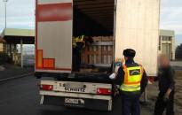 Veszélyes áruk közúti szállítását ellenőrizték a katasztrófavédők