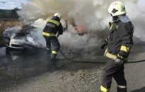 Mit tegyünk ha tűz keletkezett autónkban?