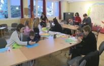 A gyerekek is kézműveskedtek a Családi hétvégén