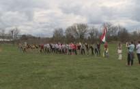 Csaknem 700 gyerek versenyzett tegnap az Olajbányász-stadion körül