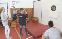 Darts bajnokság a Zrínyi-iskolában