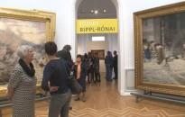 Rippl-Rónai festményei Zágrábban