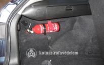 Szerezzünk be tűzoltó készüléket az autónkba!