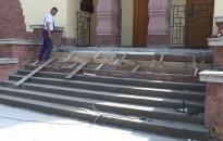 Lépésről lépésre megszépül a református templom