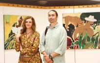 Orosz házaspár alkotásaiból nyílt kiállítás