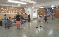 A gyerekek ünnepe a Kiskanizsai-iskolában