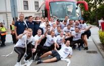 Bajnokcsapatokat köszöntöttek az Erzsébet téren