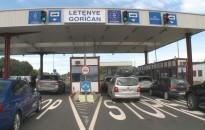 Növekvő forgalom a letenyei határátkelőnél