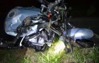Szarvassal ütközött a motoros, a férfi meghalt