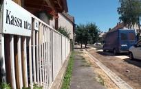Felújították az útburkolatot a Kassa utcában