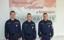 Új tűzoltókkal erősödtek a tűzoltóparancsnokságok