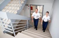 Készenléti rendőrök modern elhelyezése