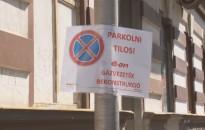 Gázvezetékeket cserélnek a Zrínyi utcában