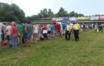 A zsaruk és a polgárőrök is ott voltak a Puszika-Oszikán