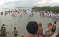 Fúvószene a Balatonban – A kanizsai együttes ezúttal is sikert aratott Máriafürdőn