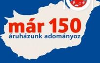 Már magyarországi áruházai háromnegyedéből adományoz jótékony célra élelmiszert a Tesco