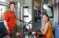 Egyre többen utaznak kerékpárral vonaton