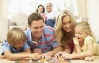 Boldogabbak azok a családok, amelyek többet játszanak