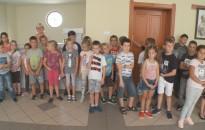 A tanév első kiállítása nyílt meg  a Rozgonyi Úti Általános Iskola galériájában