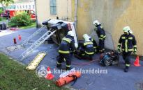 Szakszerűen és gyorsan – Összemérték tudásukat a zalai tűzoltók