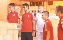 Kiskanizsára látogatott tegnap az U16-os magyar válogatott