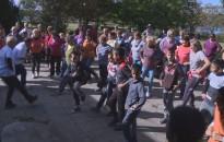 Több mint háromszázan sétáltak a gyalogló világnapon