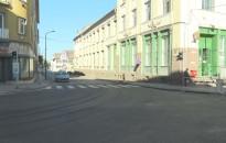 Jól halad az útfelújítás a belvárosban