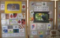 A felelős állattartásra is felhívták a figyelmet tegnap a Zrínyi-iskolában