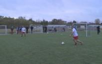 Összecsaptak a veterán focisták