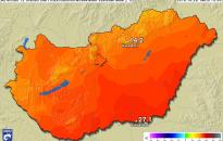 Az országos és a fővárosi napi melegrekord is megdőlt hétfőn