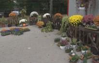 Megnőtt a forgalom a virágboltokban