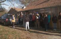 Márton-napi pincejárás volt a hétvégén Cserfőn