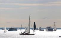 A balatoni személyszállító hajók díszszemléje Balatonfüreden