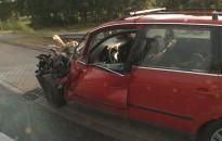 Egy kombájn és egy személyautó ütközött össze pénteken