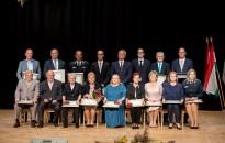 Díszközgyűlés – Tizenöten részesültek díjazásban