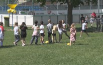 Sportnapot tartottak hétfőn a Zrínyi-iskolában