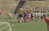 A kicsik is belekóstolhattak a futball világába