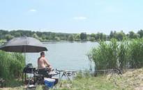 A Csónakázó-tónál zajlott a Zala megye legjobb horgásza versenysorozat második fordulója