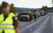 Katonai konvojokra kell számítani szombatig többfelé az utakon