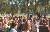 Elkezdődött a nyelvi napok első köre tegnap a Kőrösi-iskolában