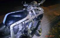 Megsérült az őzzel ütköző kanizsai motoros
