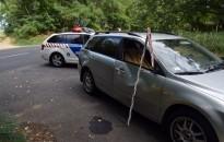 Tört az autó, megsérült az utas, a szarvas megúszta