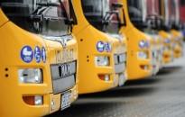 Négy új csuklós busz érkezik Zalába, Balogh László polgármester örömét fejezte ki