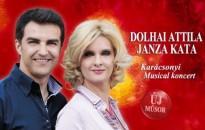 Csak musical ! – Janza Kata és Dolhai Attila karácsonyi koncertje