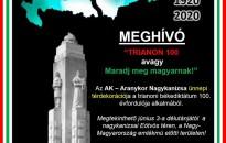 Trianoni békediktátum 100. évfordulója