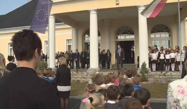 Névadó ünnepség Palinban