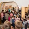 Kiállításmegnyitó a Bolyaiban