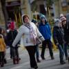 Mikulás-napi zenés csodaváró az Erzsébet téren, fotó: Gergely Szilárd