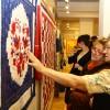 Muramenti foltboszorkák kiállítása, fotó: Bakonyi Erzsébet