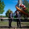 Felavatták a Csónakázó-tó játszóterét, fotó: Gergely Szilárd